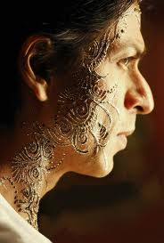 mehndi style mehndi designs for face