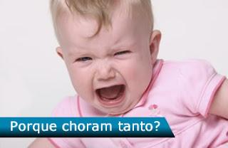 Porque os bebês choram tanto? - como identificar o choro do bebê