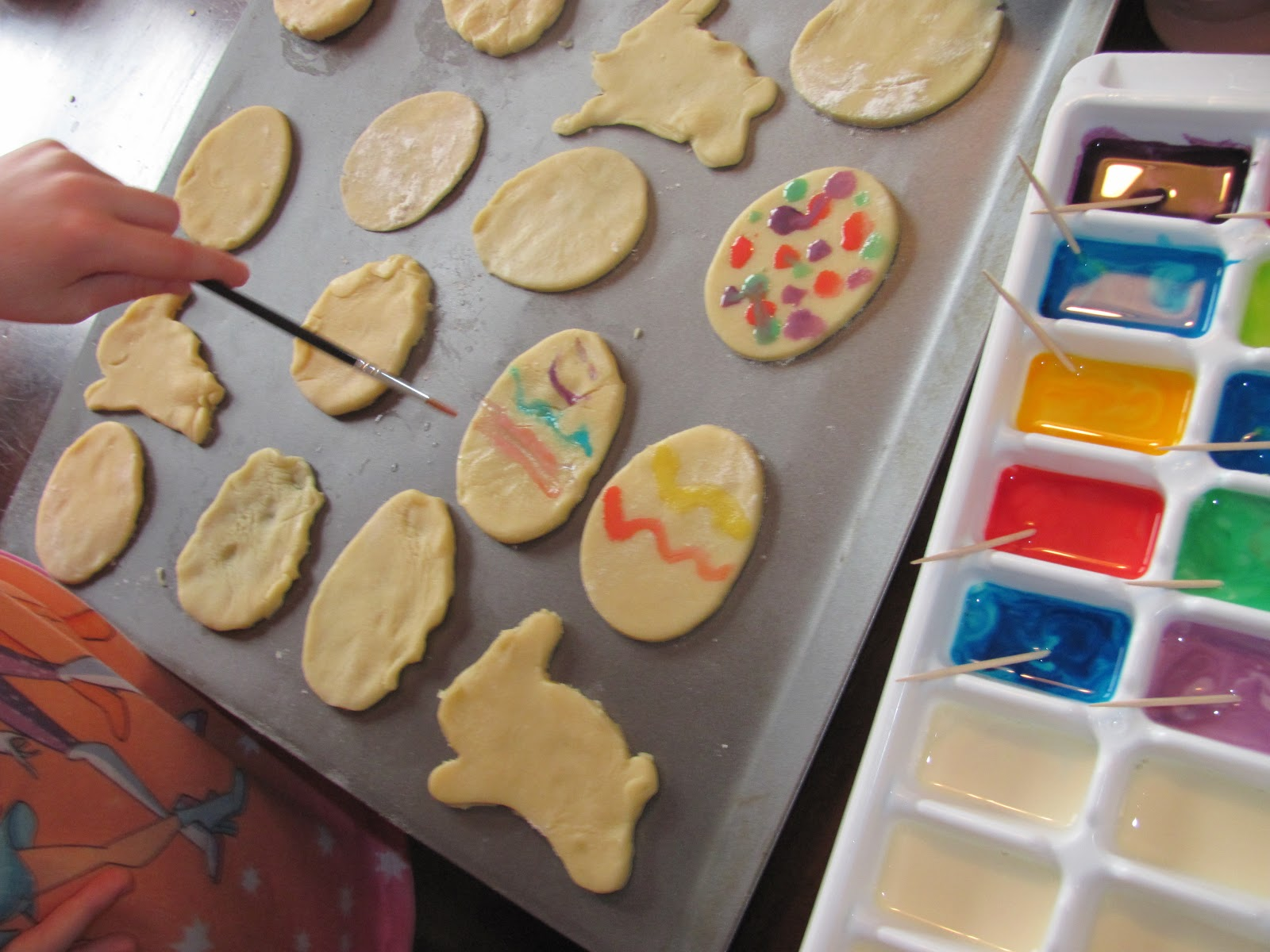 The Chocolate Muffin Tree: Painted Easter Sugar Cookies