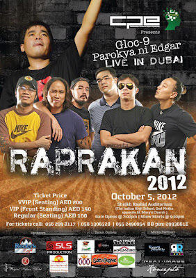 Gloc 9 and Parokya ni Edgar Live in Dubai