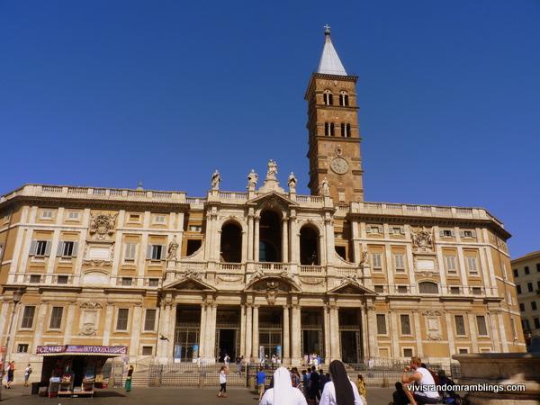 Basilica Di Santa Maria Maggiore , Rome, Italy