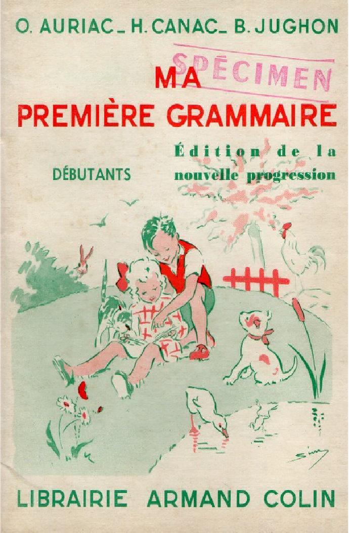 Grammaire au CP