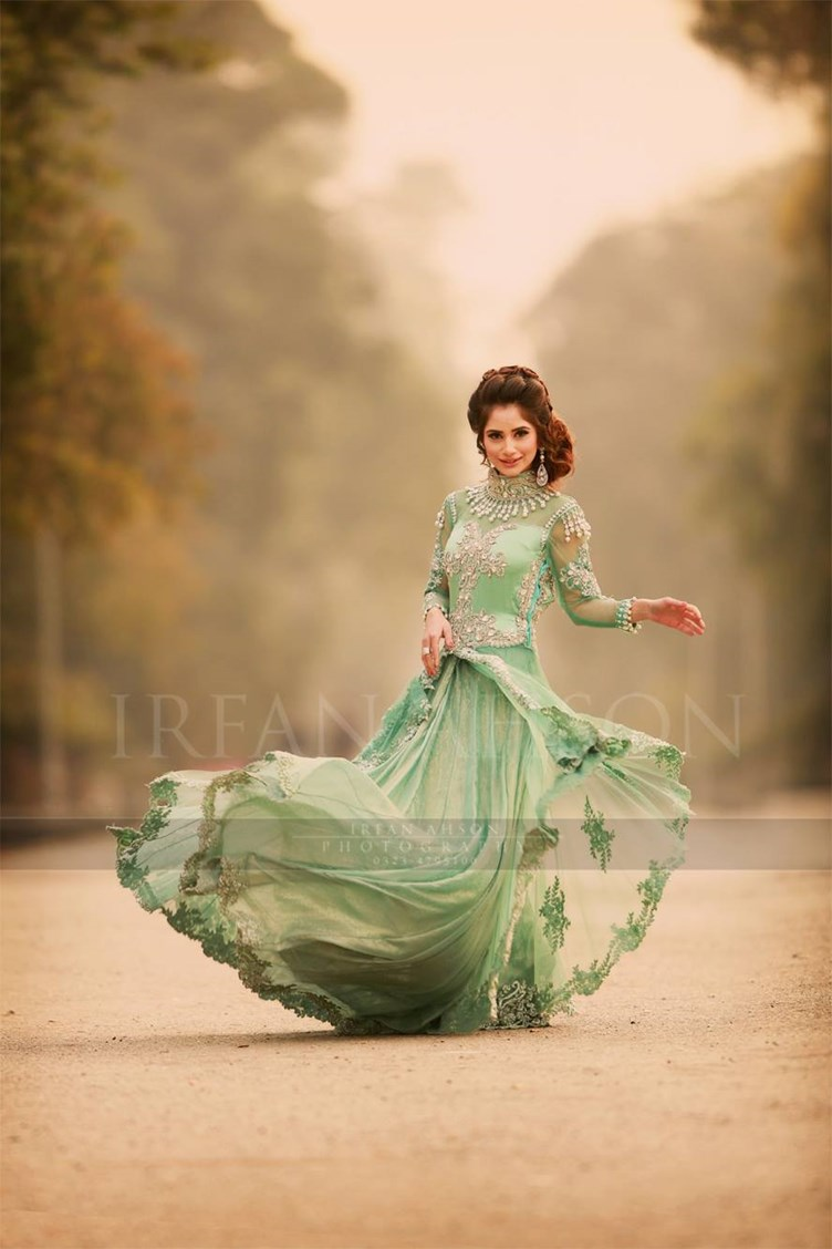 10 most beautiful green color bridal dresses 2016 just