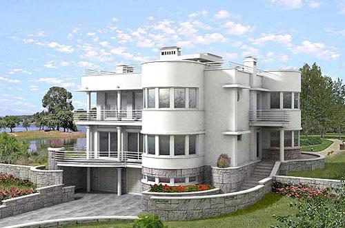 Proyecto Mansion De Lujo Planos De Casas Y Viviendas
