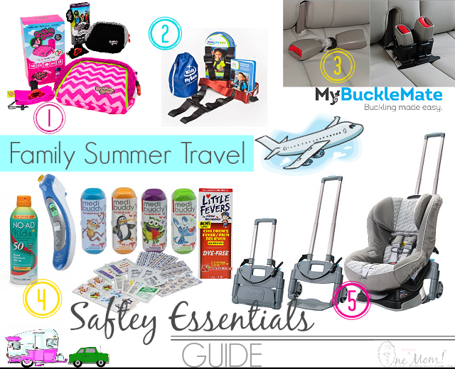 Summer Family Travel Safety Essentials Guide GiveawayTravel With Young Kids One Savvy Momm