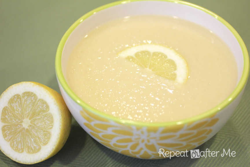 Repeat Crafter Me: Crock Pot Lemon Rice Soup