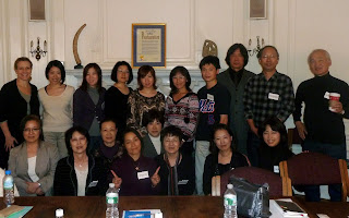 Japanese Counselors Visit Ackerman Institute
