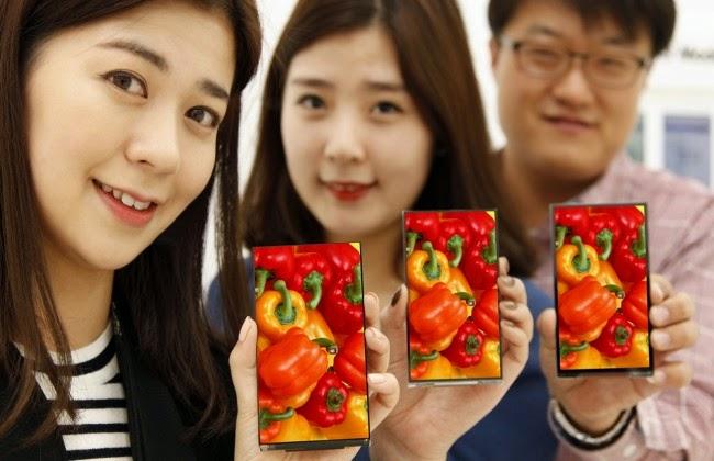 LG smartphone bezel tertipis di dunia
