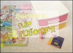 Happiness Is Cute Stationary!