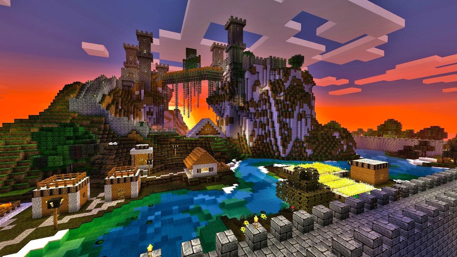Minecraft desktop wallpapers - Minecraft Mods, Tools ...