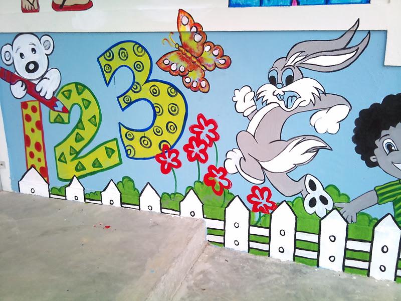 Izz s decorative painting lukisan mural for Contoh lukisan mural tadika