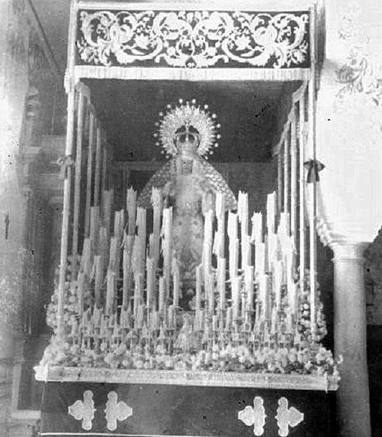 1957 Palio de la Virgen de las Tristezas Patrocinio López 1885
