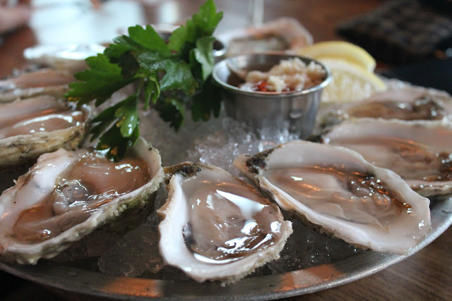Oysters at Abigail's, Cambridge, Mass.