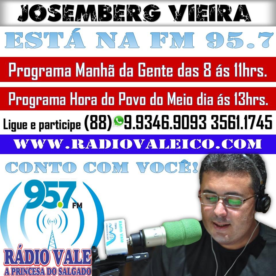 LIGUE E PARTICIPE! RÁDIO VALE 95.7