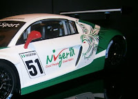 Team Nigeria 'Racing Eagle' to compete in FIA GT series around the world