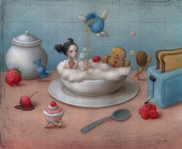 Paintings by Nicoletta Ceccoli