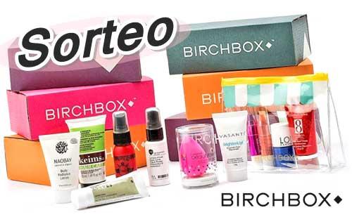 sorteo birchbox durante 3 meses