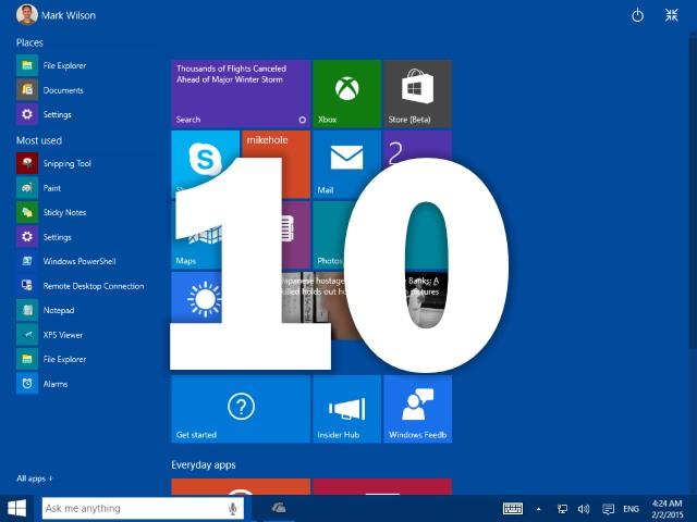 Microsoft Windows 10 Minimum System Requirement