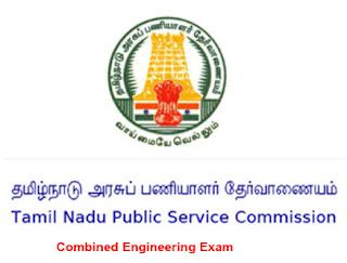 TNPSC Combined Engineering Services Exam 2013