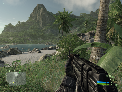 The first Crysis game. Can it run Crysis?