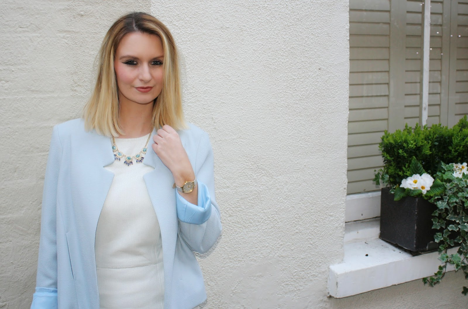 blue blazer from topshop