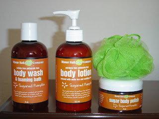 Manor Hall Soap Company Sugared Pumpkin Body Care products.jpeg