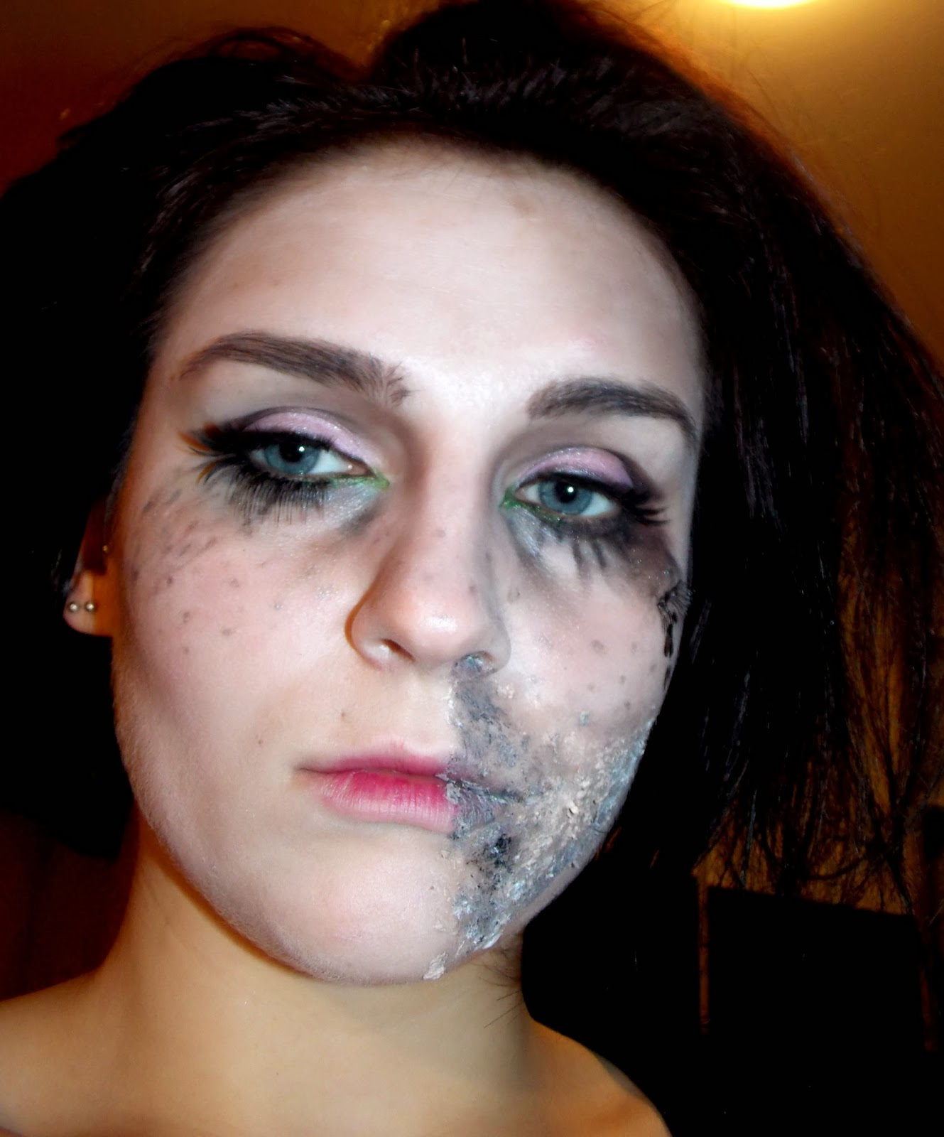 Makeup Ideas sloth makeup : spiritual or emotional apathy, being physically and emotionally ...