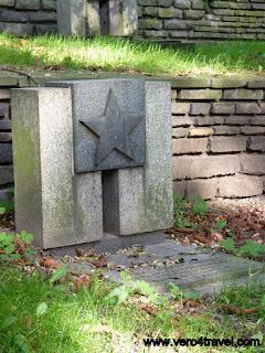 Cementerio soviético en Polonia