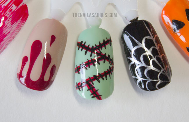 18 easy nail art ideas for halloween the nailasaurus uk nail easy halloween nail art prinsesfo Choice Image