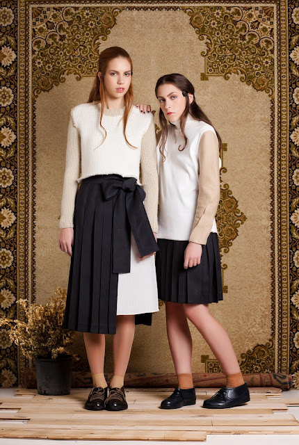 AW 12  blouse and skirts