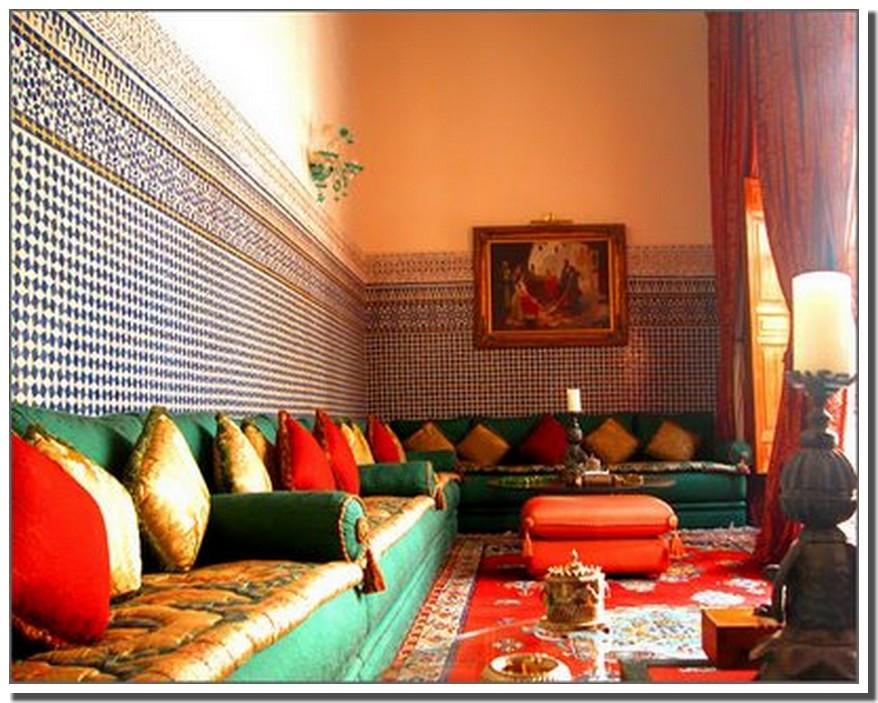 Nassima home salon marocain traditionnel for Salon traditionnel marocain vert