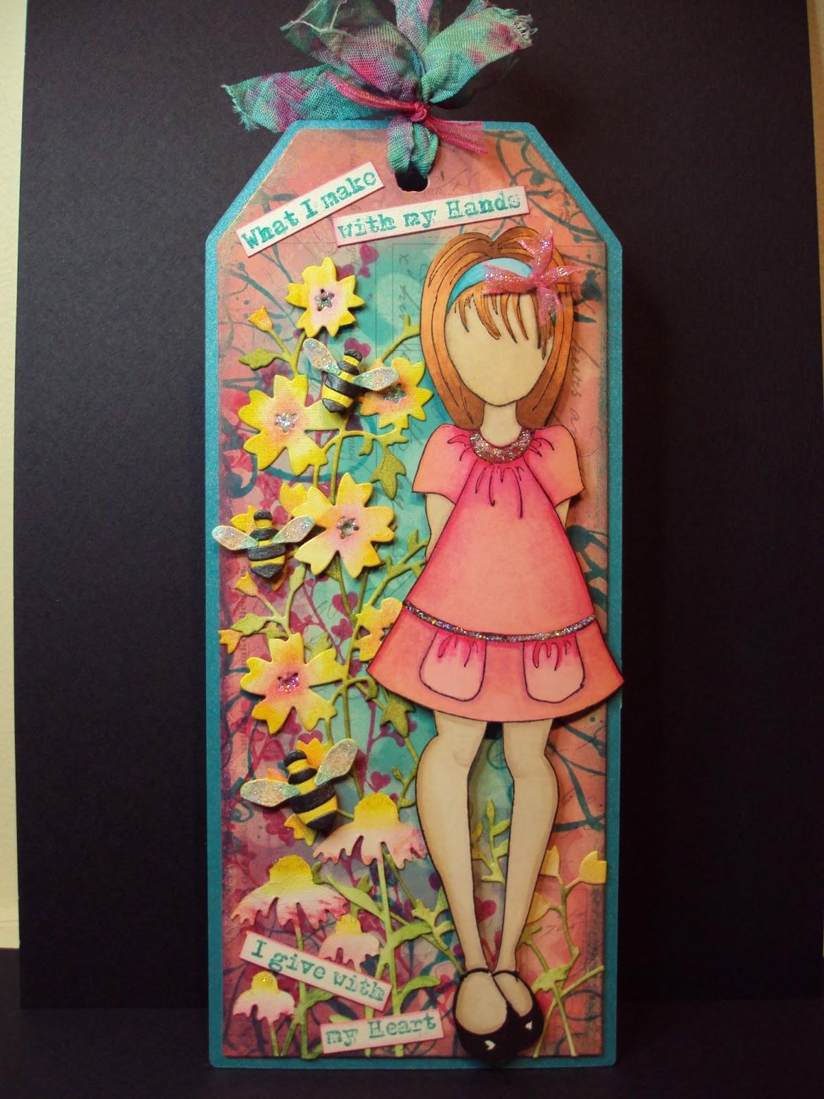 Pauline's Crafty Haven: Prima Doll stamp, Distress inks ...