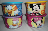 One Touch Topper Junior Disney Set 600ml (4pcs)