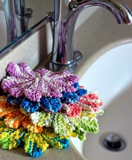 Mini Almost Lost Washcloth Knitting Pattern