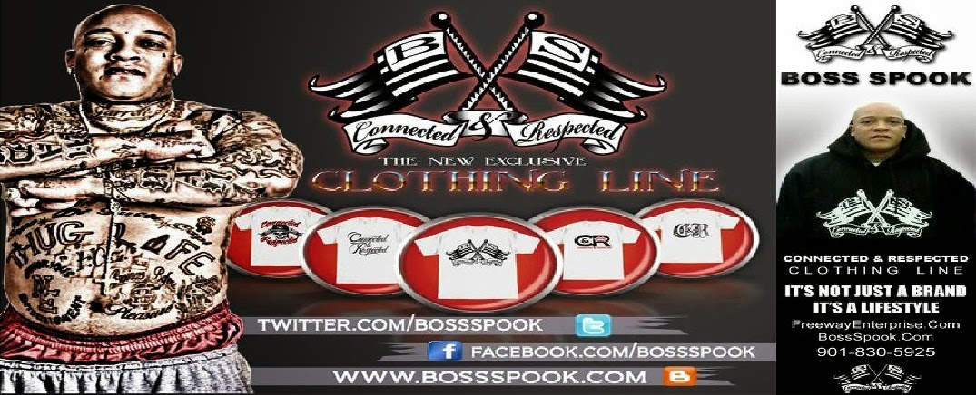 "CONNECTED AND RESPECTED CLOTHING LINE  ""IT'S NOT JUST A BRAND IT'S, A LIFESTYLE"""