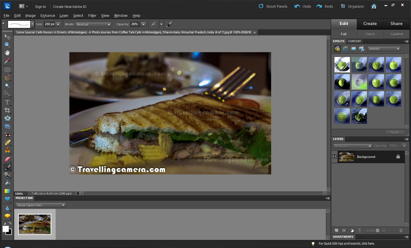 how to make one photo out of many in photoshop