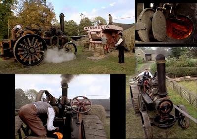 Victorian Steam Threshing Machine