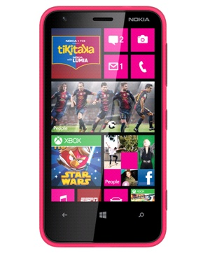 Nokia Lumia 620 Rosado