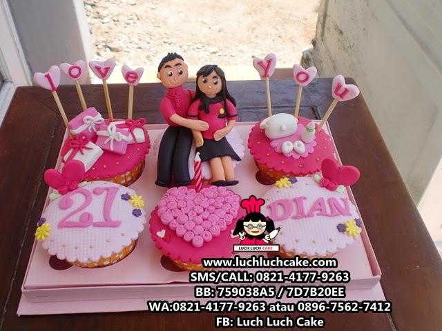 Cupcake Ibu Hamil Daerah Surabaya - Sidoarjo