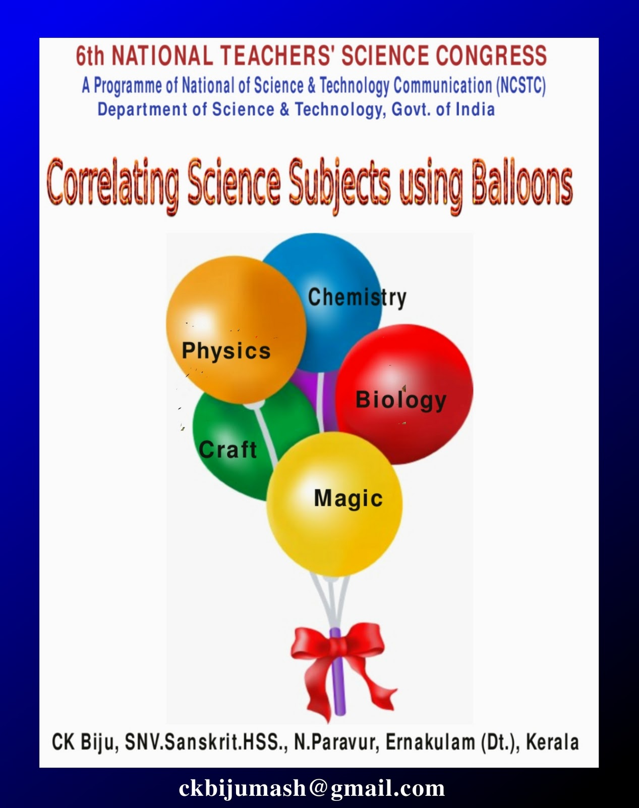 balloon science projects
