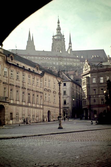 Wonderful Color Photos Of Prague In 1946 Vintage Everyday