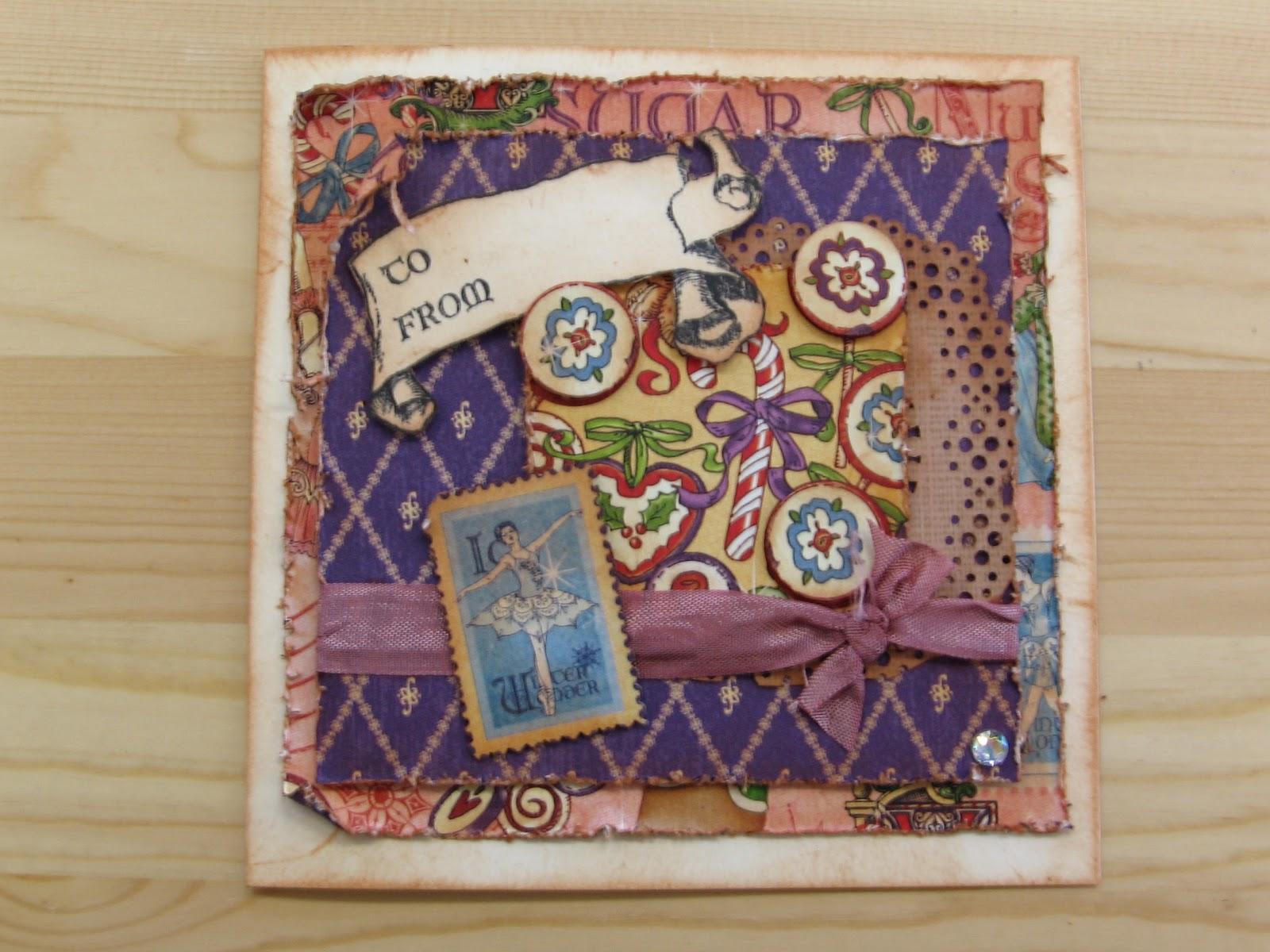 My Stamping Studio: VINTAGE NUTCRACKER CHRISTMAS CARDS