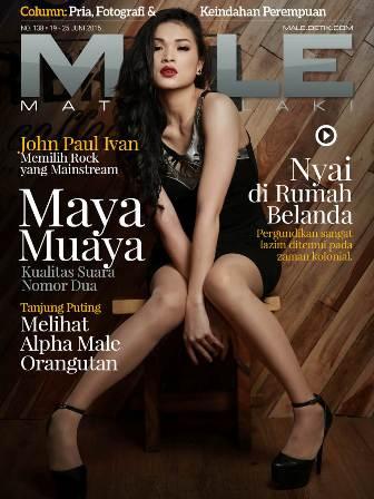 Download Gratis Majalah MALE Mata Lelaki Edisi 138 Cover Model Maya Muaya | MALE Mata Lelaki 139 Indonesia | Cover MALE 138 Maya Muaya - Seni Bela Diri Modal Bermain Film | www.zone.downloadmajalah.com