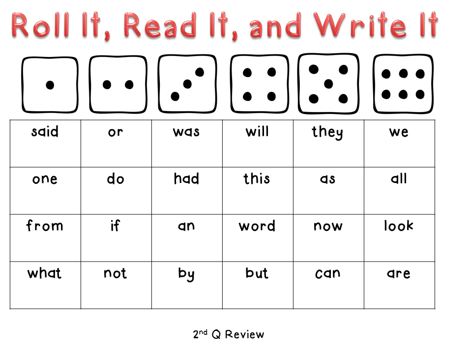 It, called word sight with Read  game It, kinder sight Roll our made ve a  words and  activities