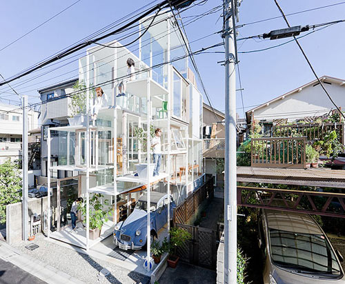 This is real architecture primitive future the for O house sou fujimoto