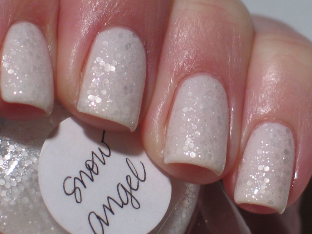 Lacquerish: Snow Angel (Lynnderella Franken!) VERY PIC HEAVY
