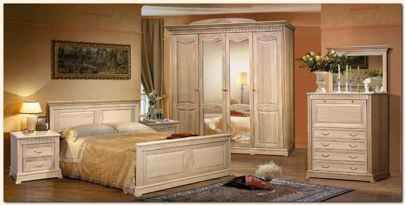 Art d co chambre a coucher bois nirgos for Art et decoration chambre a coucher