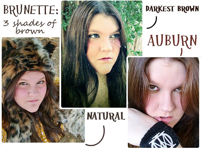 Auburn and Brown Haircolor