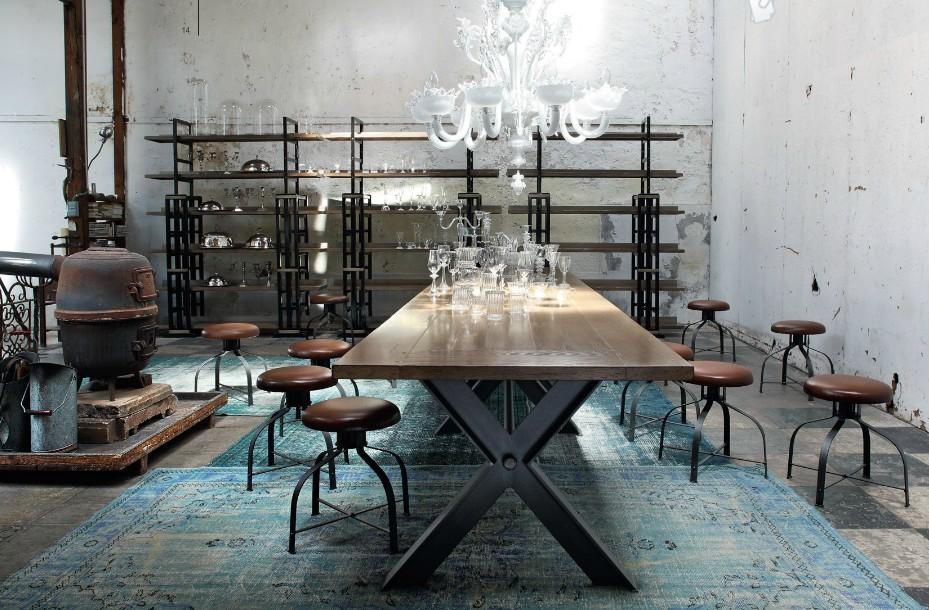 Decoraci n a tu alcance estilo industrial vintage - Decoracion vintage industrial ...