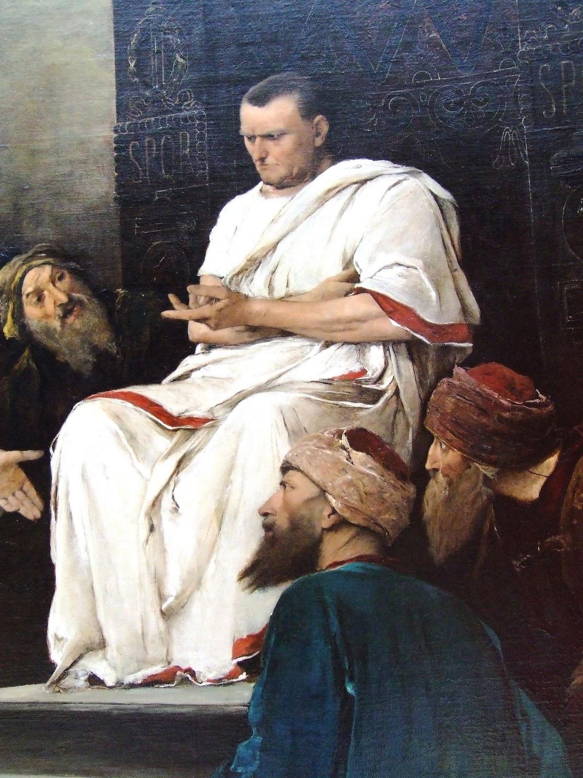 how to say pontius pilate